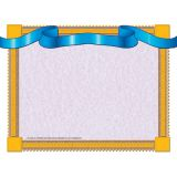 Blue Ribbon Border Certificate, 8-1/2 x 11, 50/pkg