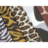 Animal Skins Designs Tissue Paper, 5 Designs, 20 x 30, 20 sheets