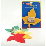 6 Tissue Paper Maple Leaves, 180/pkg