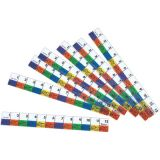 Transparent Inchworms™ Rulers, 10/pkg