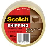 Scotch® Packaging Tape, Clear, 2 x 60 yds.