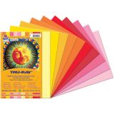Tru-Ray® Construction Paper - Cool & Warm Assortments, 9x12, 50 sheets