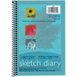 Art1st® Sketch Paper Diary, 9 x 6, 70 sheets