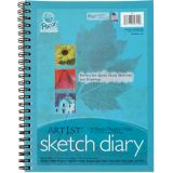 Art1st® Sketch Paper Diary, 12 x 9, 70 sheets