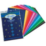 Art Tissue Sheets - 12 x 18 sheets - 5 each of 20 assorted colors - 100 sheetsg