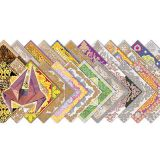 Fancy Papers Origami, 6 x 6, 24 sheets