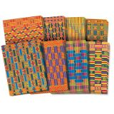 Roylco® Design Craft Paper, African Textile Paper, 8-1/2 x 11, 32 sheets