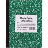 Hard Cover Marble Graph Composition Books - 1 dozen - 8 x 10 - 100 sheets - 5 squares to inch
