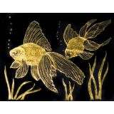 Scratch-Art© Paper, Gold & Silver Foil, 8-1/2 x 11, 10 sheets with stick
