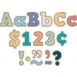 Painted Wood Bold Block 4 Letters Combo Pack