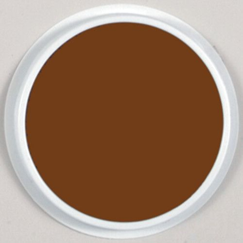 Jumbo Circular Washable Stamp Pad Brown CE 6611
