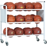Double Wide Ball Cart