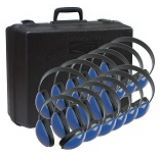Pack of 12 Califone 2800 Blue w/ case