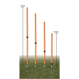 Adjustable Agility Pole Set