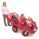 6-Seat Never Flat Fat Tire Bye-Bye Buggy