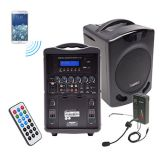 PA419-02M Portable PA w/ Wireless Head Mic.