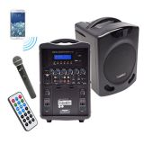 PA419-02Q Portable PA w/ Wireless Hand Held Mic.