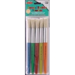 Brushes - Stubby - Round