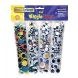 Wiggle Eyes Assortment - 500 Pcs
