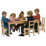 CLASSROOM TABLE - HIGH PRESSURE LAMINATE TOP