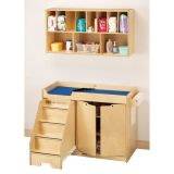 Changing Table with Stairs - Left