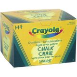 Crayola® Dustless Yellow Chalk 144/box
