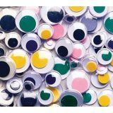 Pacon® Wiggly Eyes Assorted Size & Colour Round