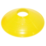 12 Large Yellow Disc Cone