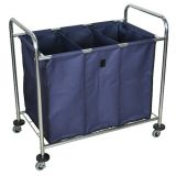 Industrial Laundry Cart w/ Dividers
