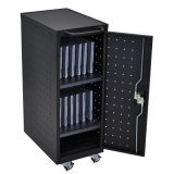 12 Laptop/Chromebook Compact Charging Cart