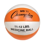 11-12lb Leather Medicine Ball