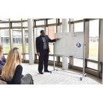 MB4836WW Double Sided White Board 48
