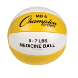 6-7lb Leather Medicine Ball