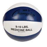 9-10lb Leather Medicine Ball