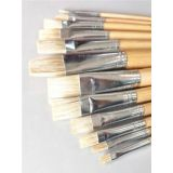 ART CLASS BRISTLE BRUSHES: The most popular brushes for students  PINCEAUX SOIES de PORC CLASSE d'ART: Les pinceaux préférés pour la salle de classe