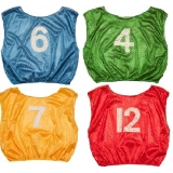 Practice Numbered Adult Scrimmage Vest