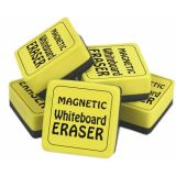 Magnetic Whiteboard Erasers, Set of 12