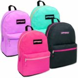 1 Case (24 units) High Trails 19 Inch Backpack - Girls