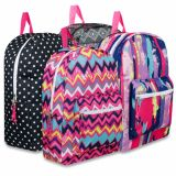 1 Case (24 units) 17 Inch Printed Backpacks - Girls