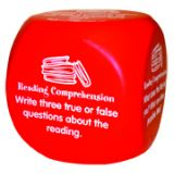 Reading Comprehension Cube