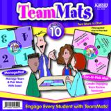 TeamMats Class Set: ManageMats 7 Fan-N-Pick Mats
