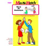 Word-N-Homonym Mix-N-Match