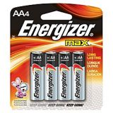 AA Energizer Batteries 4 pack
