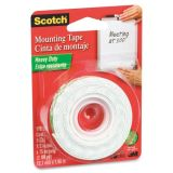 Adhesives, MMM 110 Scotch Permanent High-Density Foam Mounting Tape MMM110