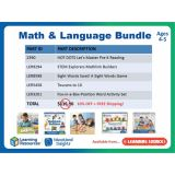 Math and Language Bundle (Ages 4-5)