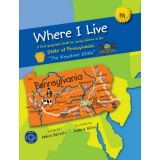 "Where I Live – State of Pennsylvania ""The Keystone State"""