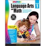 Spectrum Language Arts & Math Common Core Edition Grade 1