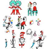 Cat in the Hat™ Characters 2-Sided Deco Kit