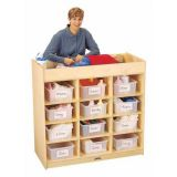 Jonti-Craft 12 Tub Changing Table with Pad
