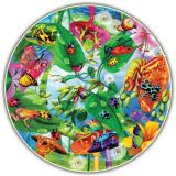 Round Table Puzzle - Creepy Critters